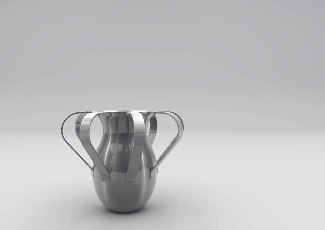 Post Conflict Colombia Aluminium Pitcher for hot chocolate